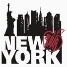 New York by DetourShirts