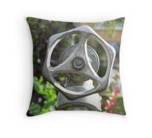 Lonely pipe Throw Pillow