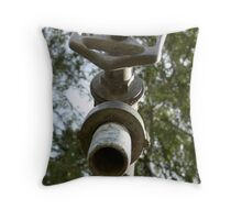 Pipes and stuff Throw Pillow