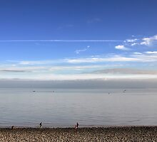 View From Penarth Beach by Kevin Cotterell