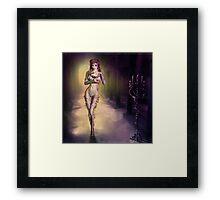 Voyage dans la sorcellerie Framed Print