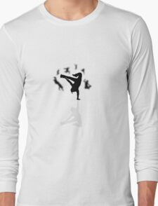 dance manequine people Long Sleeve T-Shirt