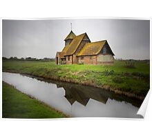 Romney Marsh Church Poster