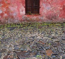 Old window in Colonia del Sacramento, Uruguay by Atanas Bozhikov NASKO