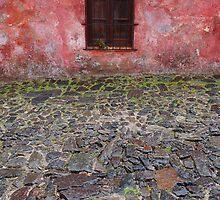 Old window in Colonia del Sacramento, Uruguay by Atanas Bozhikov Nasko