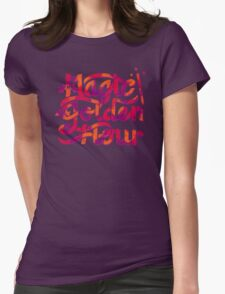 Golden Hour Womens Fitted T-Shirt