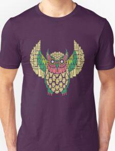 owl letter T-Shirt