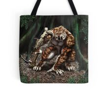 Saber Tiger Tote Bag