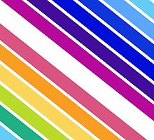At the End of The Rainbow Stripes by XOOXOO