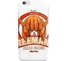 Freeman's Crab Shack Design iPhone Case/Skin