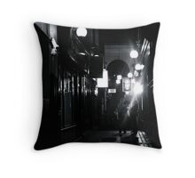 Dark End Of The Street Throw Pillow