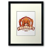 Freeman's Crab Shack Design Framed Print