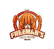 Freeman's Crab Shack Design Photographic Print