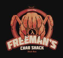Freeman's Crab Shack Design by sunlightphaggot