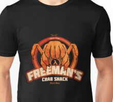 Freeman's Crab Shack Design Unisex T-Shirt