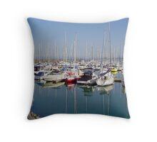 Sandringham Marina - Victoria - Australia Throw Pillow