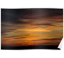 Severn Sunset Heaven Poster