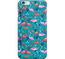 beautiful pattern lovers flamingo iPhone Case/Skin