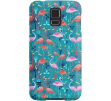 beautiful pattern lovers flamingo Samsung Galaxy Case/Skin
