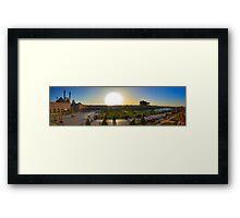 Imam Square HDR Panorama - Esfahan - Iran Framed Print