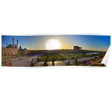 Imam Square HDR Panorama - Esfahan - Iran Poster