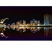 Buenos Aires by night, Argentina Photographic Print