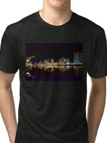 Buenos Aires by night, Argentina Tri-blend T-Shirt