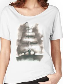 Sailing in the storm Women's Relaxed Fit T-Shirt