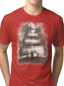 Sailing in the storm Tri-blend T-Shirt