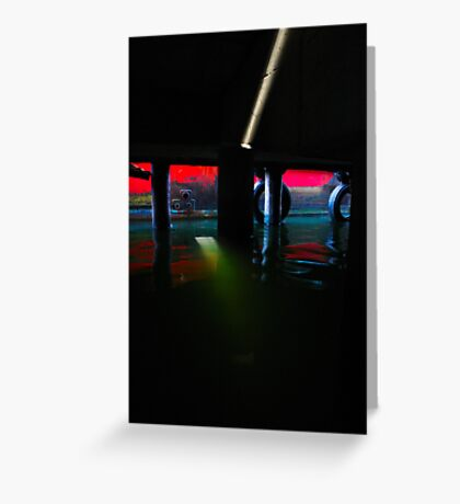 Stray Light Greeting Card
