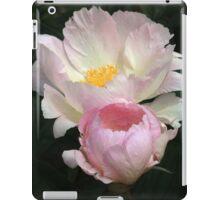 Paeony and bud iPad Case/Skin