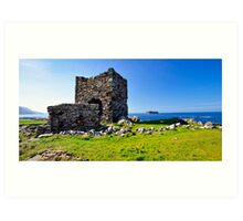 Carrickabraghy Castle Art Print