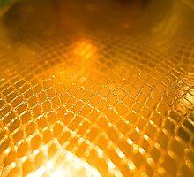 Golden alligator patterned background by Atanas Bozhikov NASKO