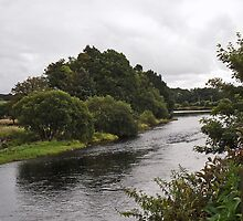 River Cree, Newton Stewart, Scotland by sarnia2