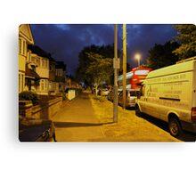 Night street Canvas Print