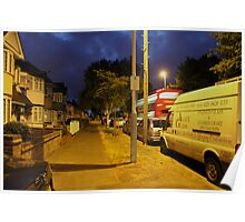 Night street Poster
