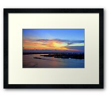 Wake up New Orleans Framed Print