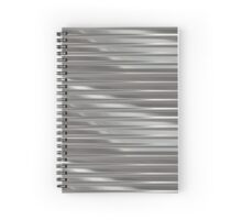 Corrugated Chrome #1 Spiral Notebook