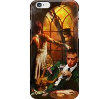 'I think you're looking for a different party, hon.' iPhone Case/Skin