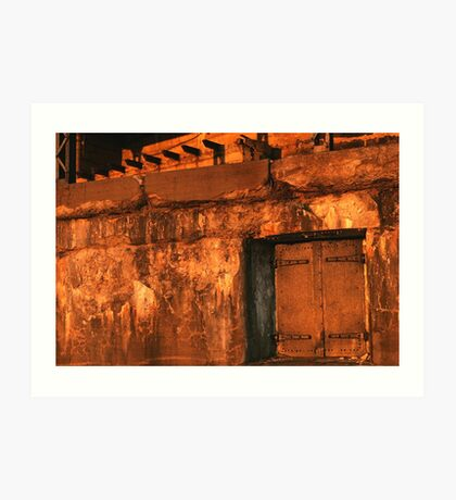 Abandon Fort Art Print