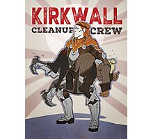 DA2 - Kirkwall Cleanup Crew Photographic Print