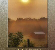 Dad's Golden Sunrise by budrfli