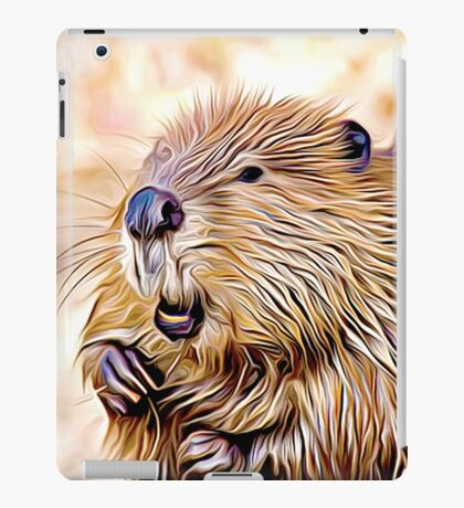 Beaver iPad Case/Skin