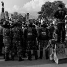 Demonstration, Ratna Park, Kathmandu by John Callaway