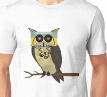 Cassette Owl Unisex T-Shirt