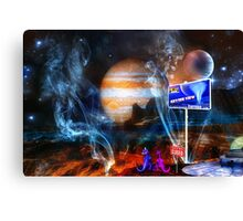 ~ But we came 80,000 light years! ~ Canvas Print