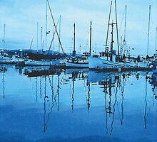 Blue Morning–Bodega Bay, CA by JoeArunski