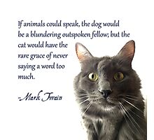If Animals Could Speak Photographic Print