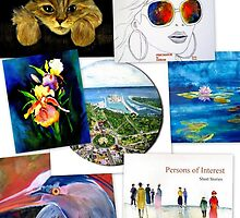 collage of artwork by Reta Ross