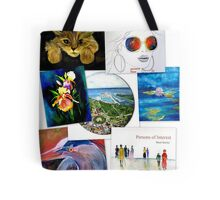collage of artwork Tote Bag